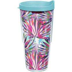 24 oz. Multi Palms Tumbler With Lid