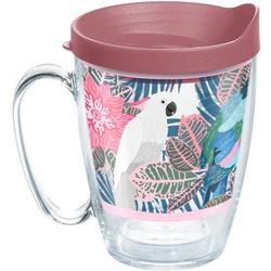 16 oz. Tropical Birds Mug