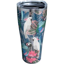 30 oz. Stainless Steel Tropical Birds Tumbler
