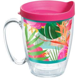 16 oz. Tropical Hibiscus Mug