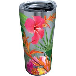 20 oz. Stainless Steel Tropical Hibiscus Tumbler