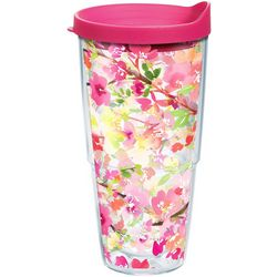 Tervis 24 oz. Yao Cheng Sakura Floral Tumbler With Lid