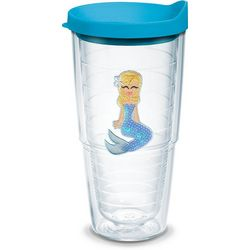 Tervis 24 oz. Blue Sequin Mermaid Tumbler With Lid