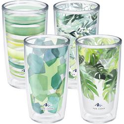 4-pc. 16 oz. Yao Cheng Green Collection Tumbler Set