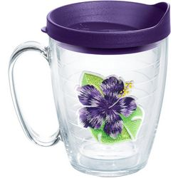 Tervis 16 oz. Island Purple Hibiscus Mug