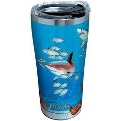 Tervis 20 oz. Guy Harvey Stainless Steel Shark Tumbler