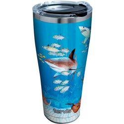 Tervis 30 oz. Guy Harvey Stainless Steel Shark Tumbler