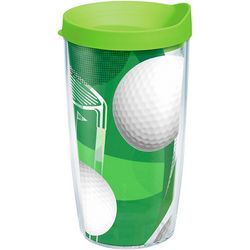 Tervis 16 oz. Golf Balls & Club Tumbler With Lid