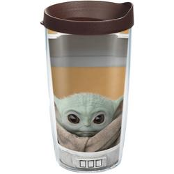 16 oz. The Child Stare Tumbler With Lid
