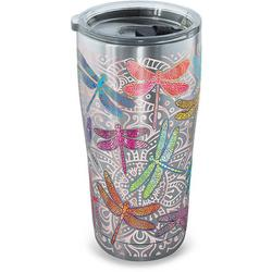 20 oz. Stainless Steel Dragonfly Tumbler