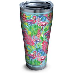 Tervis 30 oz. Stainless Steel Bright Flamingo Tumbler