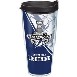 24 oz. Tampa Bay Lightning Stanley Cup Travel Tumbler