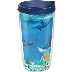 16 oz. Guy Harvey Ocean Scene Tumbler With Lid