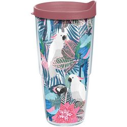 Tervis 24 oz. Tropical Birds Tumbler With Lid
