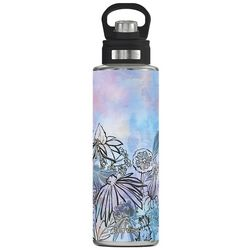 Tervis 40 oz. Stainless Steel Floral Line Wide Mouth Tumbler