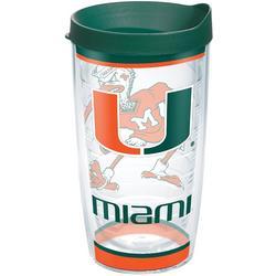 16 oz. University of Miami Traditions Tumbler