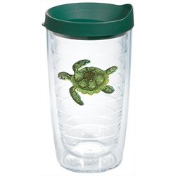 Tervis 16 oz. Green Turtle Travel Tumbler