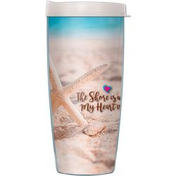 COVO 16 oz. Shore My Heart Travel Tumbler