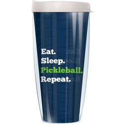 COVO 22 oz. Eat Sleep Pickleball Travel Tumbler