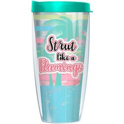 22 oz. Strut Like A Flamingo Travel Tumbler