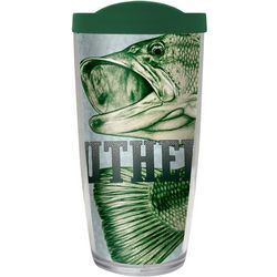 COVO 16 oz. Big Mouth Bass Travel Tumbler