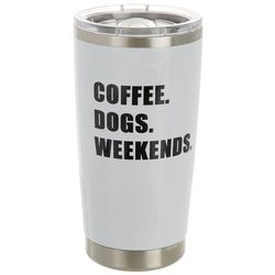 Meteor 20 oz. Stainless Steel Coffee Dogs Weekends