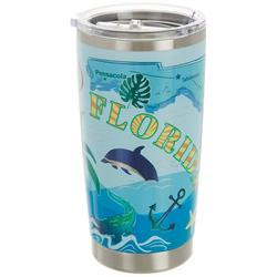 20 oz. Stainless Steel Florida Vacay Tumbler