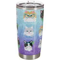 Tropix 20 oz. Stainless Steel Catastic Travel Tumbler