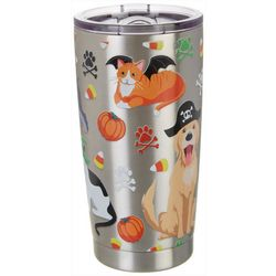 Brighten the Season 20 oz. Stainless Steel Pets Tumbler