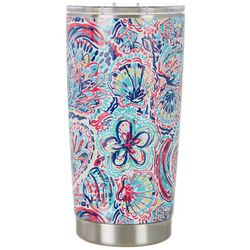 Tackle & Tides 20 oz. Stainless Steel Paisley Tumbler