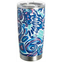 20 oz. Stainless Steel Abstract Paint Tumbler