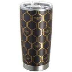 Tropix 20 oz. Stainless Steel Honeycomb Tumbler