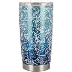 Coastal Home 20 oz. Stainless Steel Shell Sketch