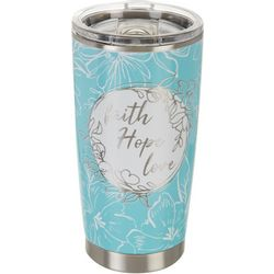Meteor 20 oz. Stainless Steel Faith Hope Love