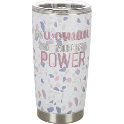 Meteor 20 oz. Stainless Steel Woman Super Power