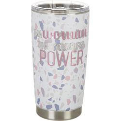 20 oz. Stainless Steel Woman Super Power Tumbler