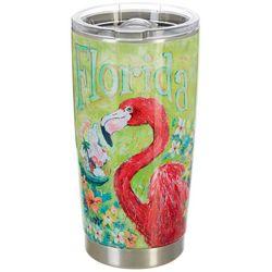 Leoma Lovegrove 20 oz. Stainless Steel Flamingo Tumbler