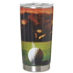 Meteor 20 oz. Stainless Steel Golf Course Tumbler