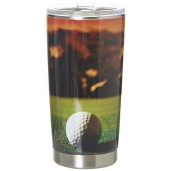 20 oz. Stainless Steel Golf Course Tumbler