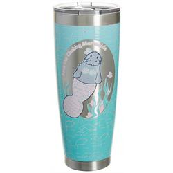 30 oz. Stainless Steel Save Mermaid Tumbler