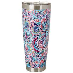 Tackle & Tides 30 oz. Stainless Steel Paisley Tumbler