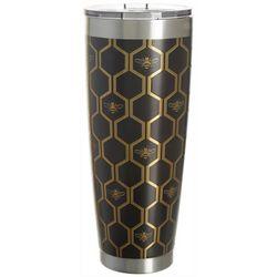 Tropix 30 oz. Stainless Steel Honeycomb Tumbler