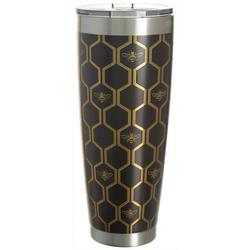 30 oz. Stainless Steel Honeycomb Tumbler