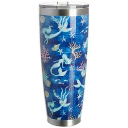 30 oz. Stainless Steel Mermaid Swim Tumbler