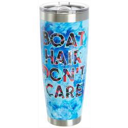 30 oz. Stainless Steel Boat Hair Tumbler