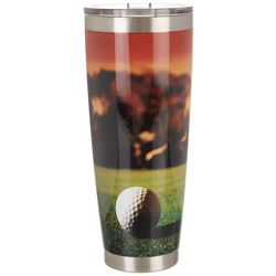 Meteor 30 oz. Stainless Steel Golf Course Tumbler
