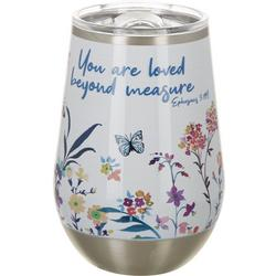 12 oz. Stainless Steel Loved Beyond Measure Tumbler