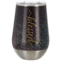 Tropix 12 oz. Stainless Steel Blessed Wine Tumbler