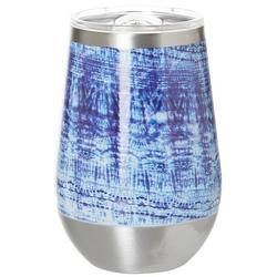 12 oz. Stainless Steel Abstract Wine Tumbler