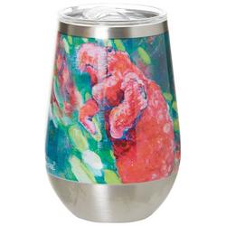12 oz. Stainless Steel Manatee Wine Tumbler